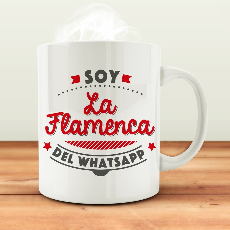 TAZA flamenca whatsapp